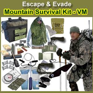 Escape & Evade® Mountain Military Survival Kit (VM) (EEMMSK-VM)