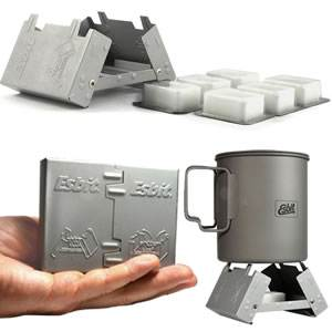 Esbit Pocket Stove with 6 Fuel Tabs (E-STOVE-6X14)