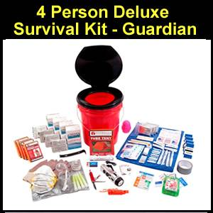 4 Person Deluxe Survival Kit - Guardian (OK4P)