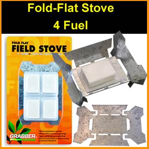 Fold Flat Tempered Survival Stove (SM353641)