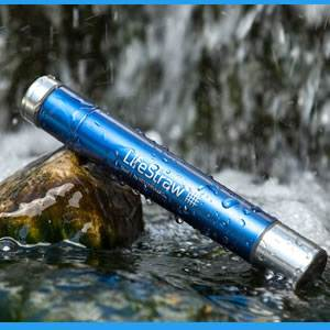 LifeStraw® Steel Personal Water FIlter (LSSTEEL032)