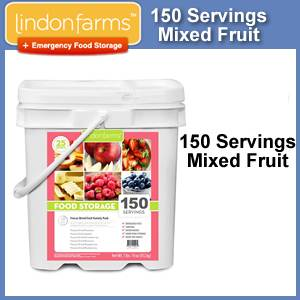 Lindon Farms™ 150 Serving Emergency Freeze Dried Fruits Bucket (SM1252)