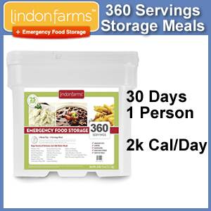 Lindon Farms™ 360 Serving Emergency Meals Bucket (SM1248)