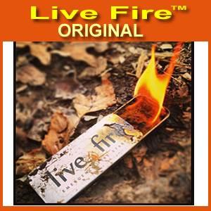 Live Fire Firestarting New Emergency Fire Starter LFO-B1