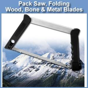 Pack Saw - Take Down - 3 Blade (SMPS-100)