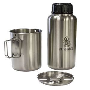 GEN3 Stainless Steel 32 oz. Bottle and Nesting Cup Set (SM-099GEN3BC-PF)