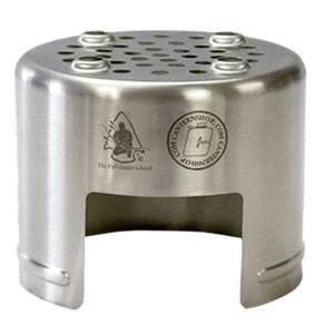 Stainless Steel Bottle Stove - Natural Fuel (SM-1179-PF)