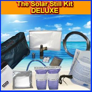 The Solar Still Deluxe Water Purification Kit (SOLAR-DELUXE)