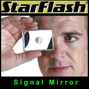 StarFlash Signal Mirror 2 x 3 by UST (SM1WG0611)
