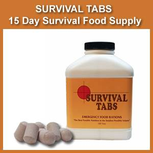 Survival Tabs - 15 Day Survival Food Supply (survivaltabs)