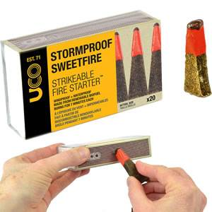 SweetFire Stormproof Matches - 20 Pack (MT-SM-SFP)