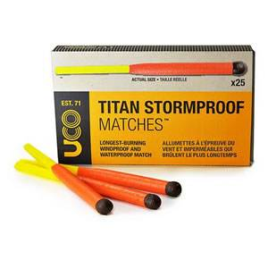 Titan Stormproof Match Case Kit  REFILL- UCO (MT-TSM1)