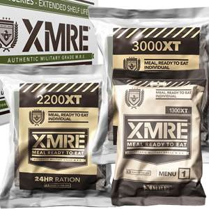 XMRE - Extended Shelf Life Rations - Cases (SM-XMRE)