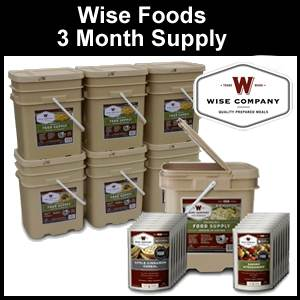 Wise Foods Three Months Supply Emergency Food (FS23)