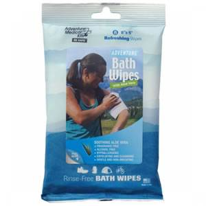Adventure Bath Travel Wipes (0170-0304)
