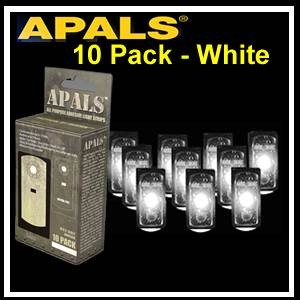APALS® 10 Pack  - White - Survival Signals (APALS10-WHI)