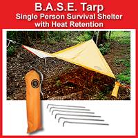 BASE Tarp Survival Shelter (20-5010-01)