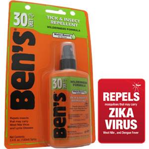 Bens 30 DEET Tick & Insect Repellent 3.4 oz. Pump Spray (0006-7187)