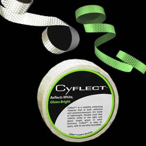 CyFlect® by Cyalume Reflective & Glow Tape - Adhesive (9-30014)