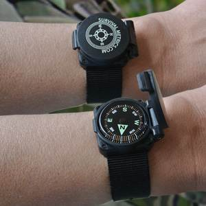 Escape & Evade® Hard Shell Wrist Compass II (EEWC2)