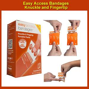 Easy Access Bandages Knuckle & Fingertip (SM0095-2001)