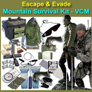 Escape & Evade® Mountain Survival Kit (VCM) (EEMSK-VCM)