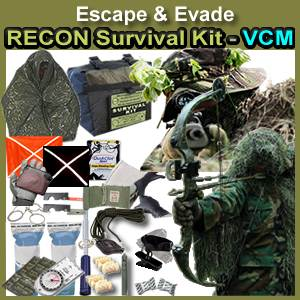 Escape & Evade® Recon Survival Kit (VCM) (EERSK-VCM)