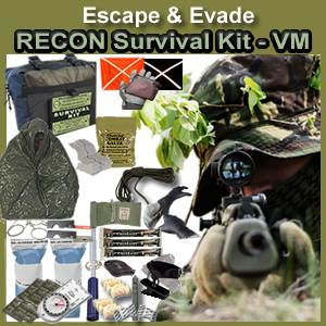 Escape & Evade® Recon Military Survival Kit (VM) (EERMSK-VM)