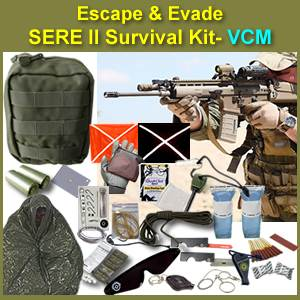 Escape & Evade® SERE II Tactical Military Survival Kit (EESSK2)