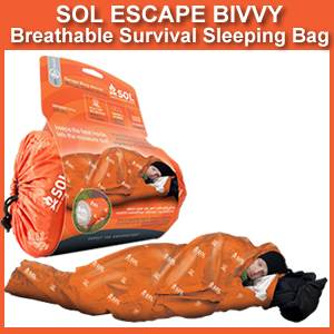 SOL Escape Bivvy - Breathable Survival Sleeping Bag (0140-1228)