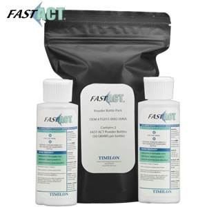 FAST-ACT® Chemical Decontamination Powder Bottle - 2 Pack (FG015-0002-00NA)