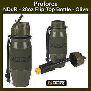 NDūR - 28oz Flip Top Bottle - Olive (SM52000)