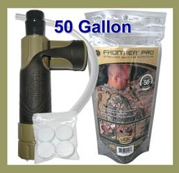 Frontier Pro Water Filter - MILITARY EDITION (SM67106)