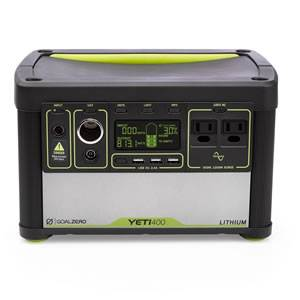 Yeti 400 Lithium Portable Power Station  (38000)