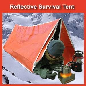 Reflective Survival Tent - Two Person (SM117)