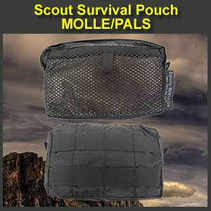 Scout Survival Kit Pouch with MOLLE (SUR701MOLLE)