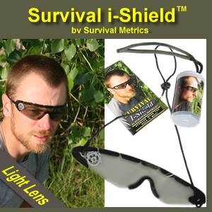 Survival i-Shield (tm) by Survival Metrics - Light Lens (ishieldlight)
