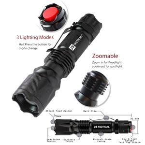 J5 Tactical V1-Pro Flashlight - Black (J5V1PRO)