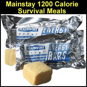 Mainstay 1200 Calorie Survival Bar (SMMS12-25)