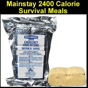 Mainstay 2400 Calorie Survival Bar (SMMS24-20)