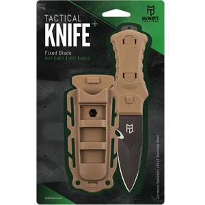 McNett® Fixed Blade Tactical Knife - Coyote (SM62010)