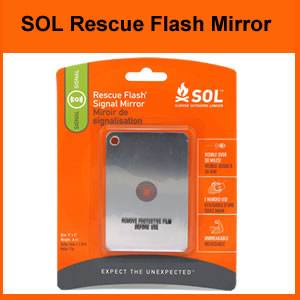 SOL Rescue Flash Signal Mirror (SM0140-0003)