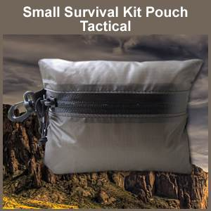 Small Tactical Survival Kit Pouch (TACTICALPOUCHSMALL)