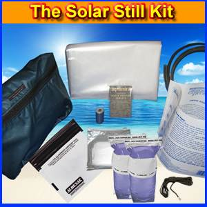 The Solar Still Water Purification Kit (SOLAR)