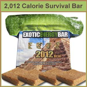 2012 kCal Survival Ration Bar (2012bar)
