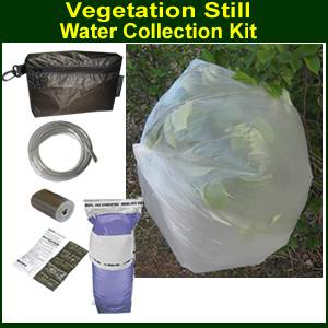 Vegetation Still Kit for Water Collection (vegstill)