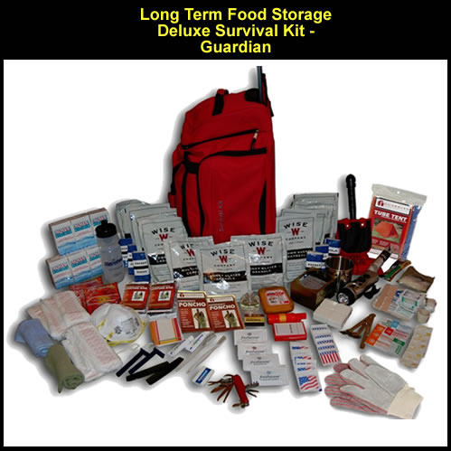 Long Term Food Storage Deluxe Survival Kit - Guardian (FSDK) & Long Term Food Storage Deluxe Survival Kit - Guardian (FSDK ...