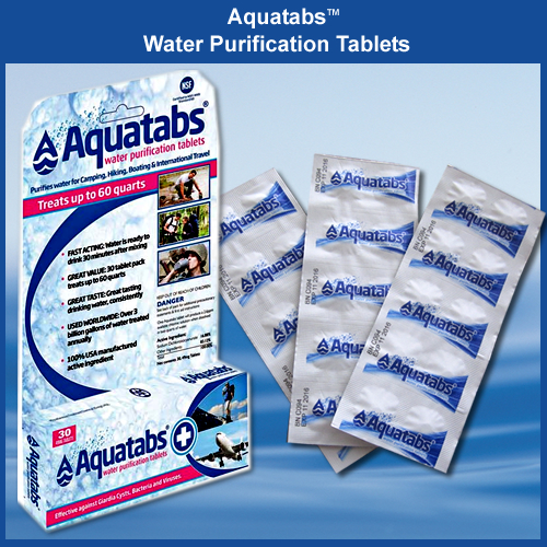 AquaTabs Water Purification Tablets (aquatabs ...
