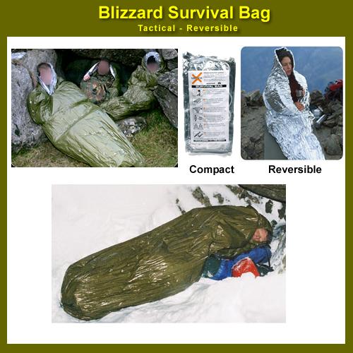 Blizzard Survival Sleeping Bag Bivvy Tactical Reversible Bps 02