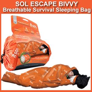 Sol Escape Bivvy Breathable Survival Sleeping Bag 0140 1228